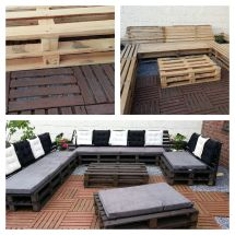 Pallets Lounge Pallet Outdoor And Sofa