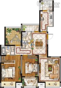 floor-plan-interior-design-vector.jpg (600872)   interior ...