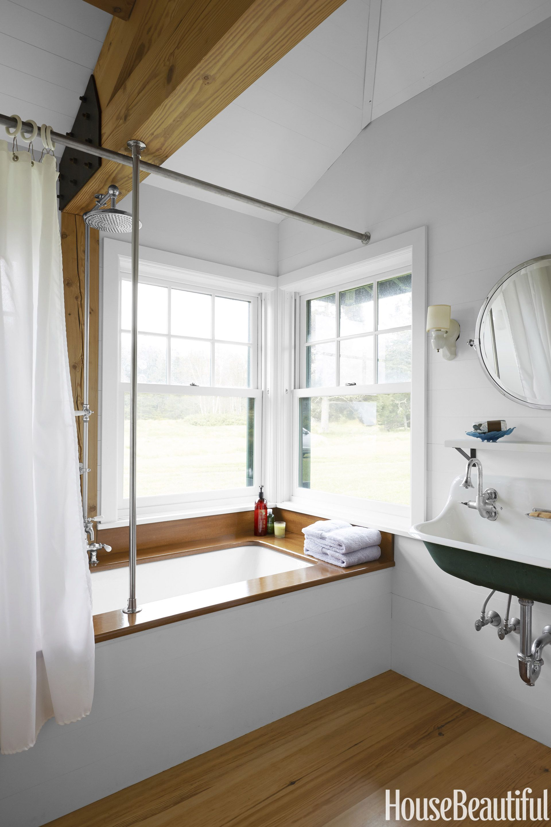 Best Kitchen Gallery: 140 Ways To Make Any Bathroom Feel Like An At Home Spa Woodwork of New England Bathrooms Designs  on rachelxblog.com