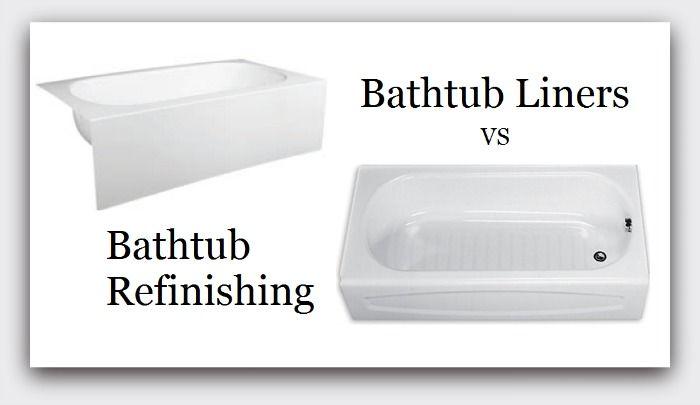 Pros  Cons Of Bathtub Refinishing vs Installing A Bathtub Liner Insert  Things you should know