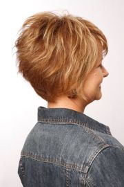 honey comb layered tousled