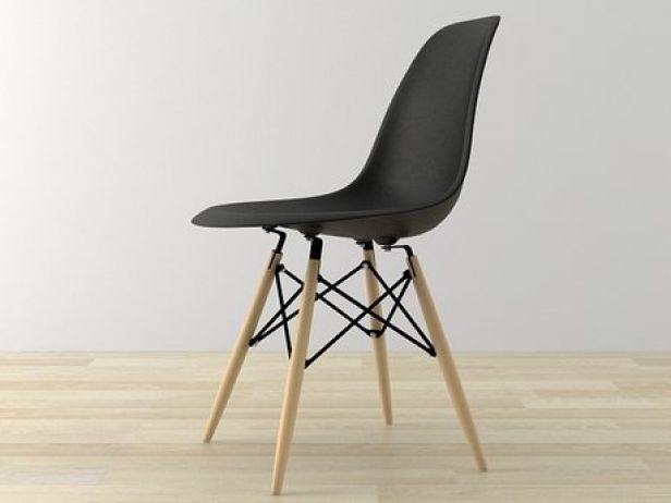 eames bucket chair stylish high plastic dsw