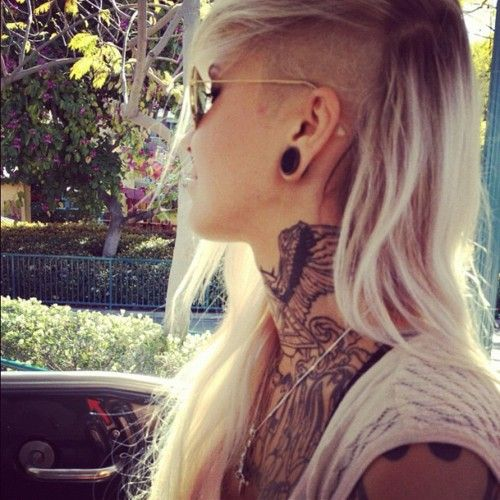 Best 25 Shaved Long Hair Ideas On Pinterest Side
