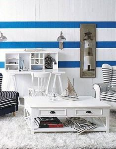 Nautical nightstand home decor easy ways to decorate in theme also rh pinterest