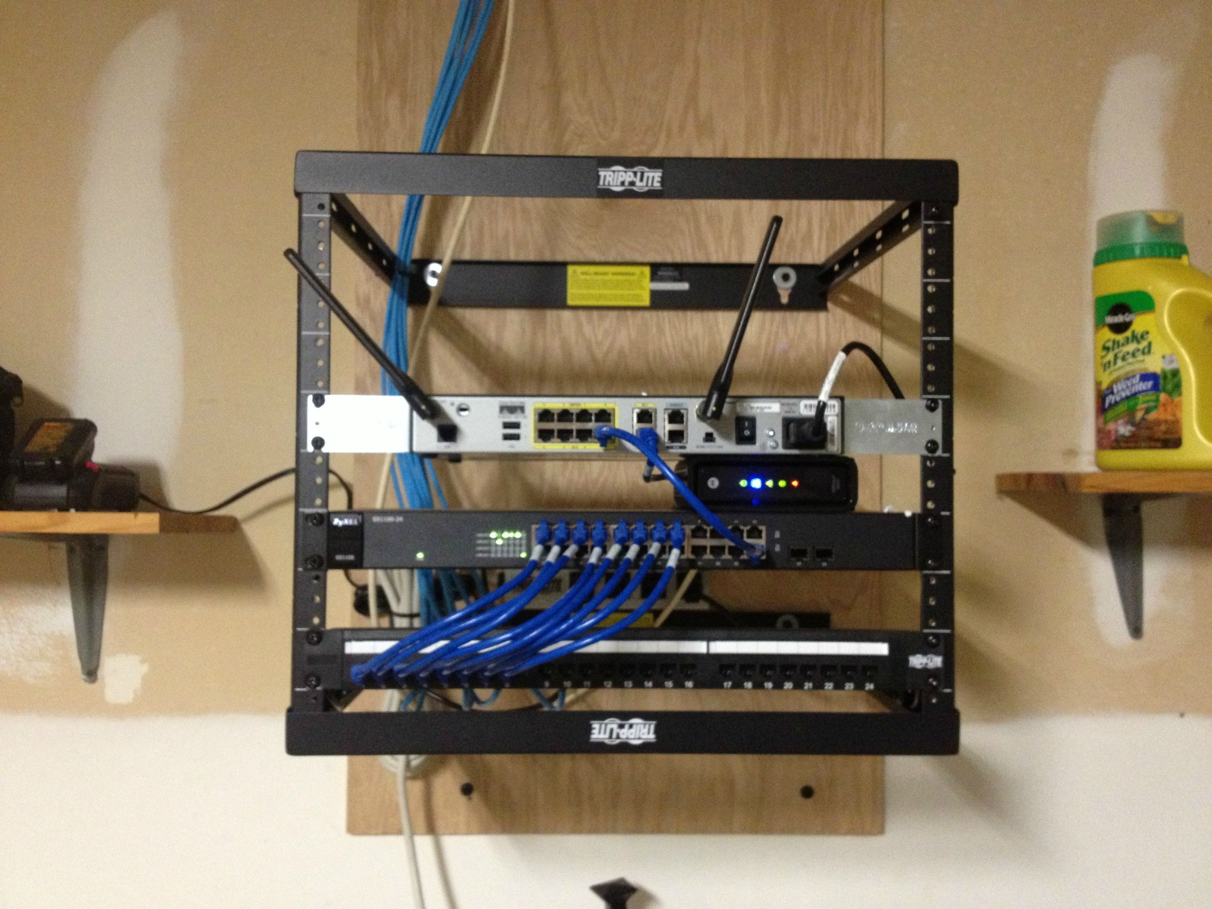 network wiring 3 way diagram power at light clean rack no smarter to do it mediacenter