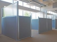 The Hush Panels (DIY cubicle partitions) are a wise choice ...