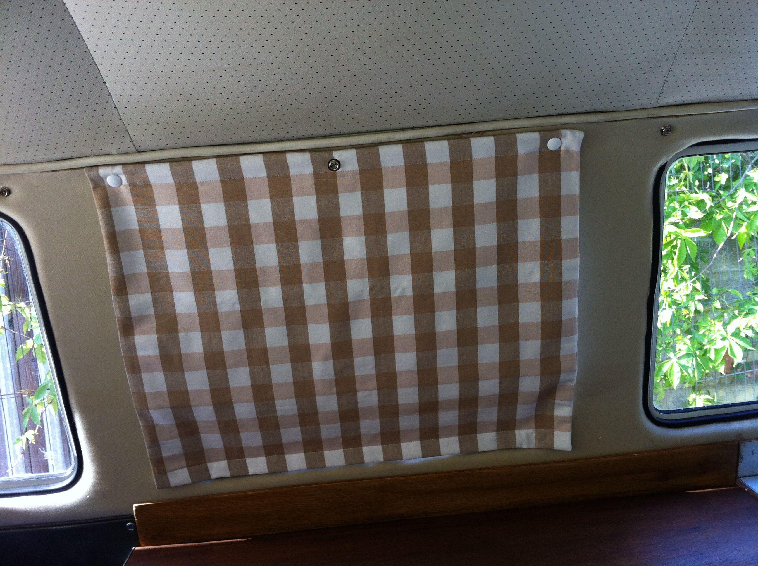 Attractive Rv Bathroom Curtains Campervan Blinds Camper