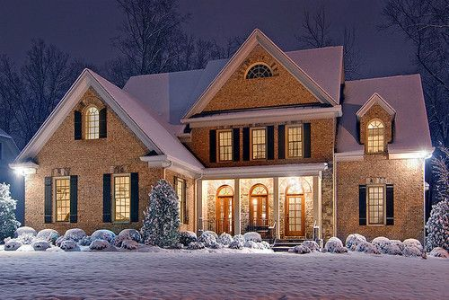 most beautiful christmas house beautiful christmas house photography snow inspiring