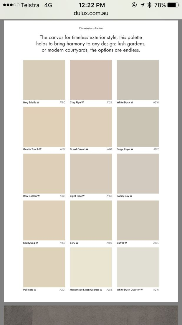 Dulux interior paint colour schemes - Exterior wall paint colours set ...