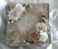 shabby chic crafts to make | made this beautiful album ...