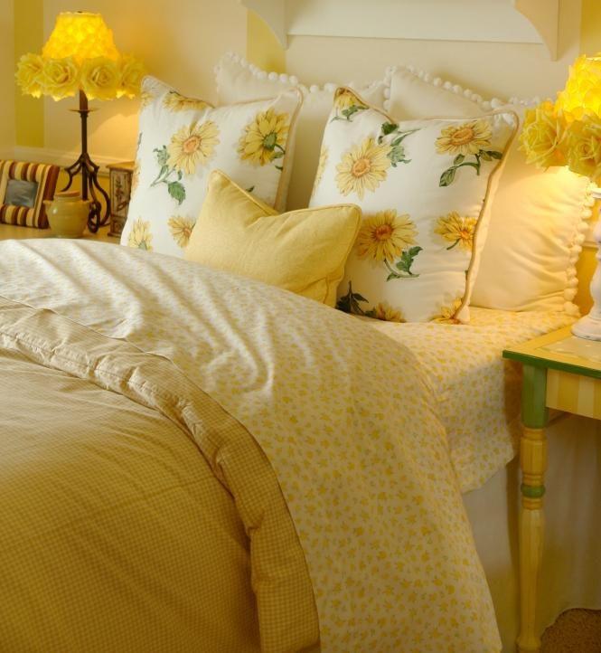 Bright Yellow Bedding Slideshow  Just stuff I like