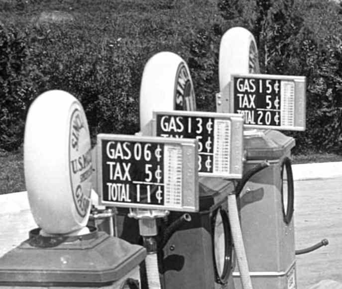 Vintage Gas Prices circa 1920s  1930s  Vintage Gas Prices  Pinterest  Gas pumps Vintage