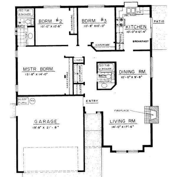 3 Bedroom Bungalow Floor Plans Design Philippines