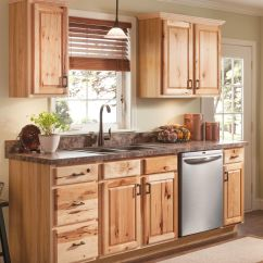 Hickory Kitchen Cabinets Complete Cabinet Packages Natural On Pinterest