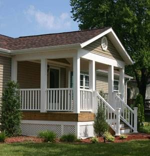 45 Great Manufactured Home Porch Designs Porch Modern And Front