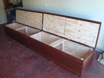 Outdoor Bench Seat with Storage