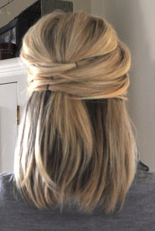 Cute Half Up Half Down Hairstyles For Short Hair New Hairstyles