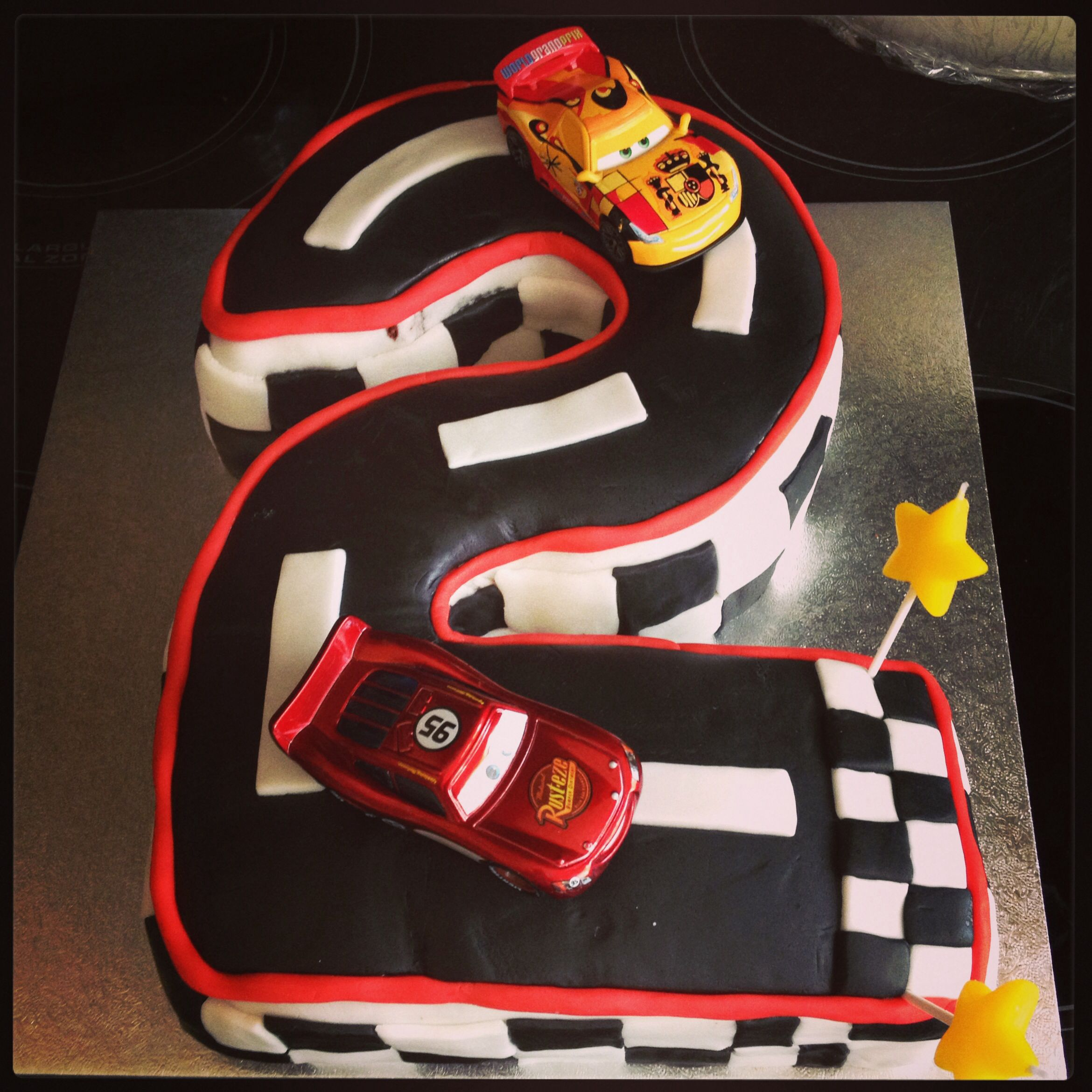 Disney Cars Number 2 Birthday Cake Liam 39s 3rd