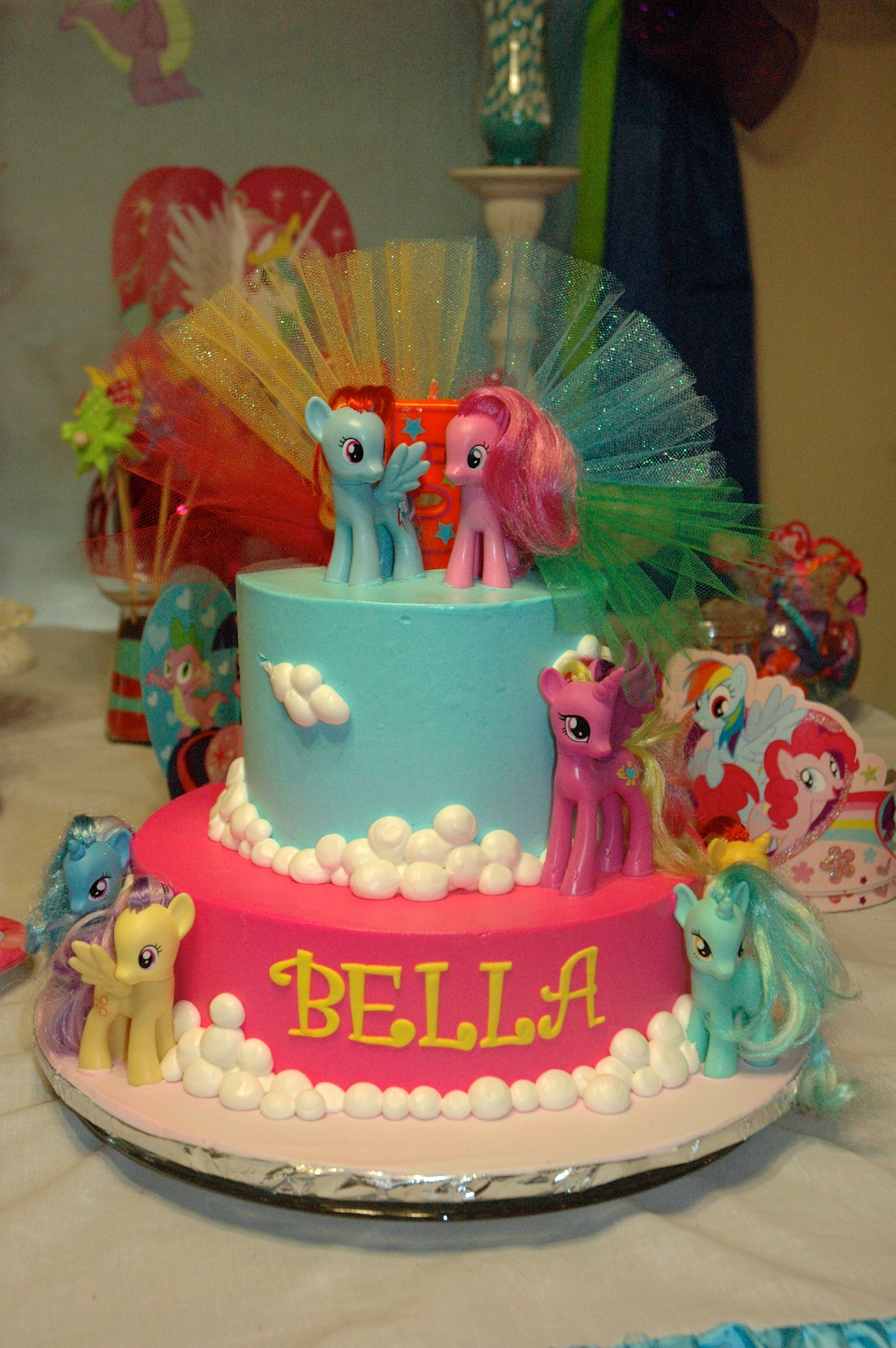 Bella S 5th Birthday Party Cake