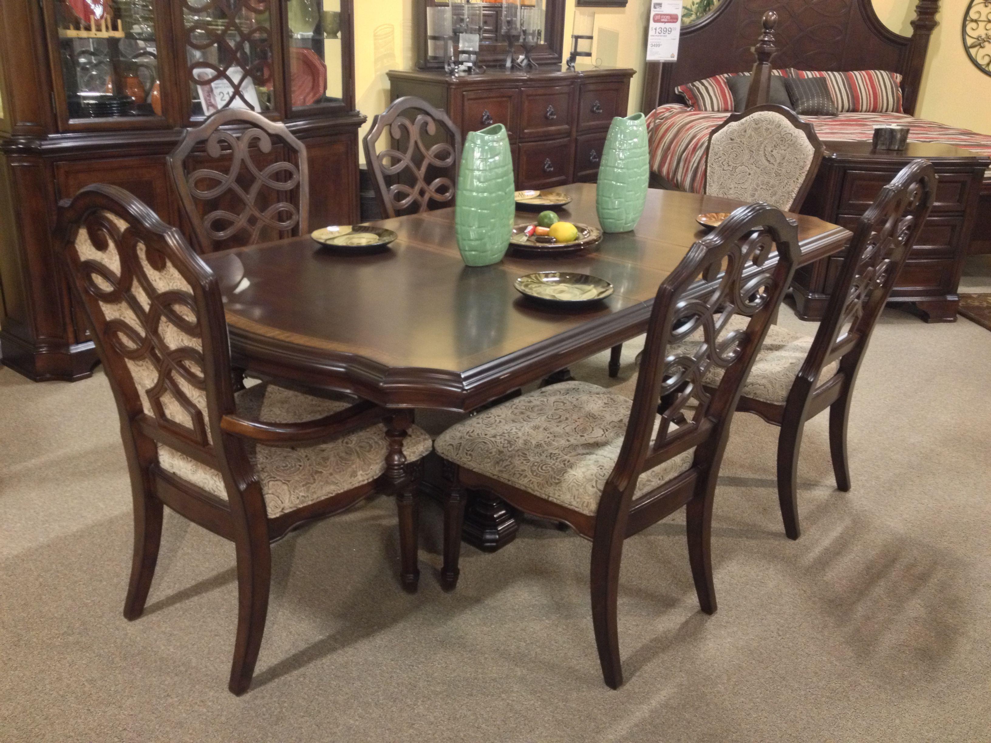 Flemingsburg 7 Piece Dining Room Set Ashley Furniture In