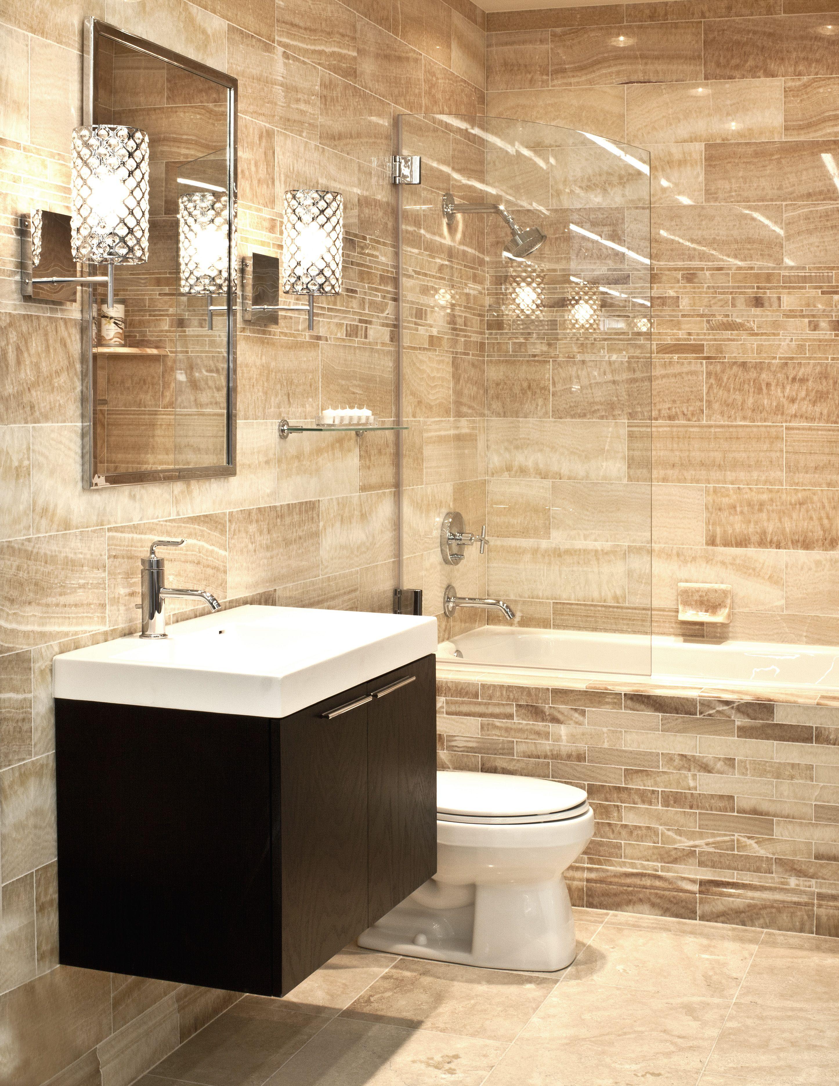 Luxurious Onyx Bathroom  Bathroom  Pinterest