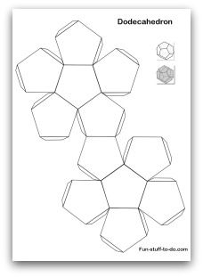 Printable Shapes: Alphabetical list of 3D geometric shapes