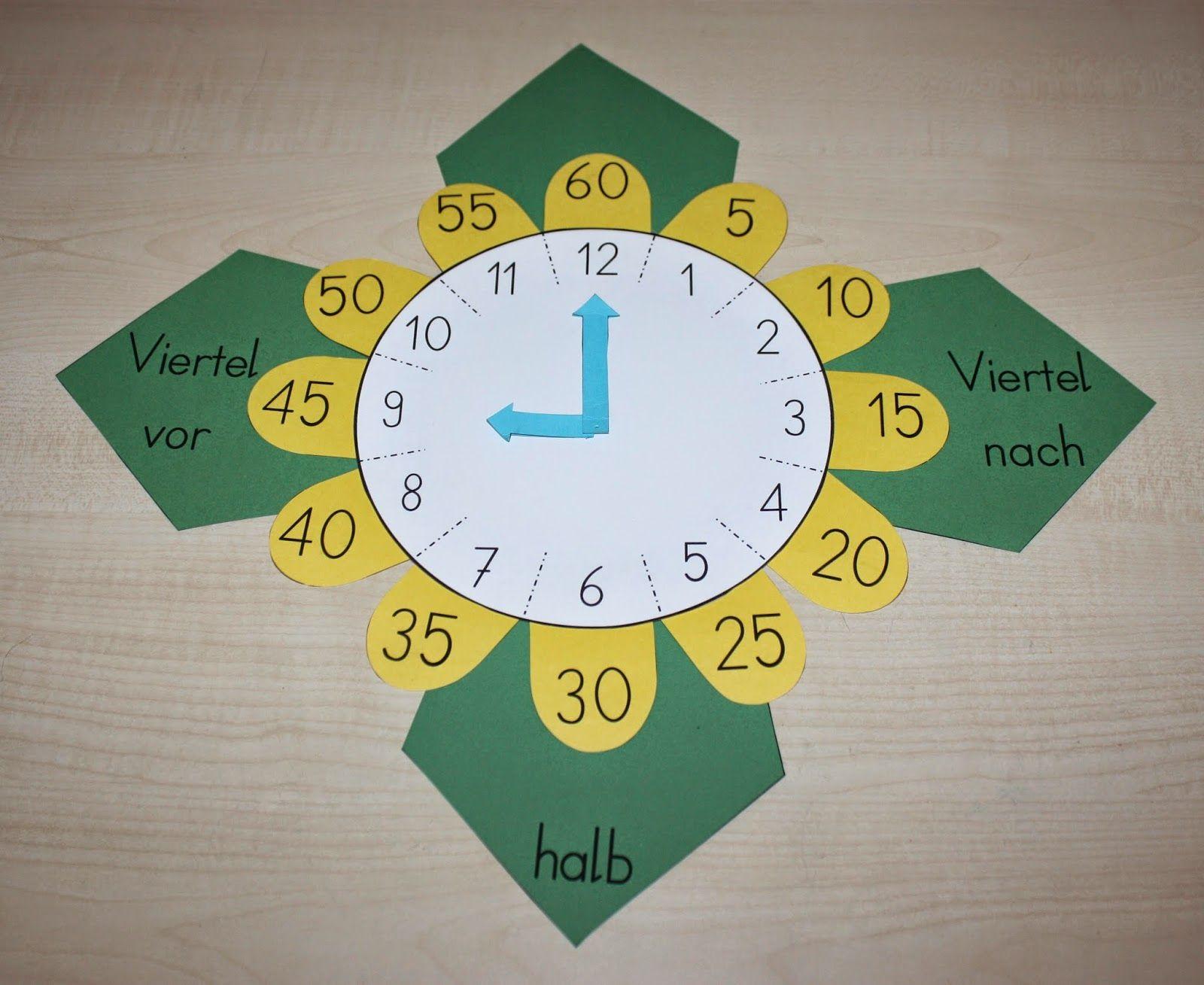Telling Time 5 Minutes Quarter To Quarter Past Half
