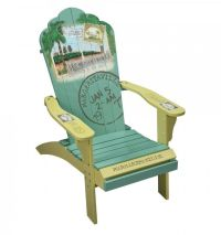 "Margaritaville Painted ""Back to the Beach"" Adirondack ..."