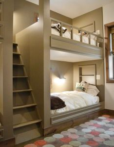Then chances are good you were sleeping in bunk beds for at least part of your childhood if lucky got the bottom so also built future house goals pinterest rh