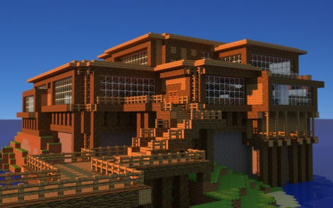 Cool House Ideas In Minecraft Google Search M I N E C R A F T