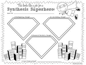 FREE printables and anchor charts for teaching first