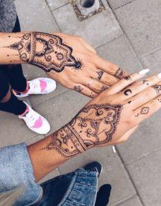 Festival trend henna hands also beauty inspiration pinterest rh
