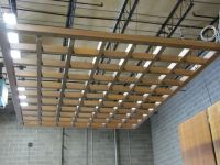 wood grid ceiling   Store   Pinterest   Ceiling, Woods and ...