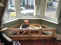 How to build a Victorian Bay Window Seat with Storage ...