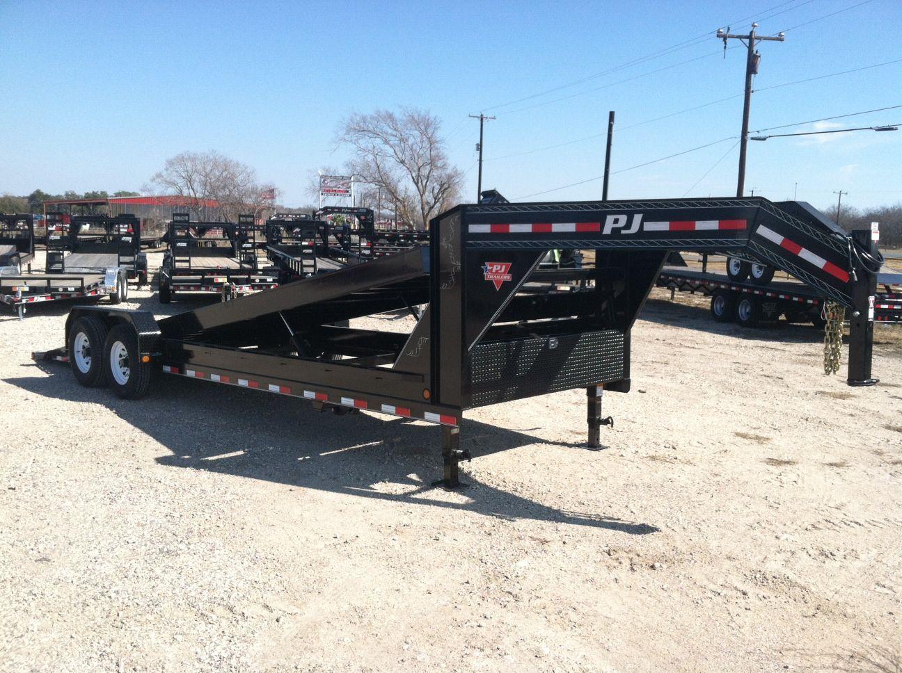 pj trailer gooseneck wiring diagram hobby caravan 12v trailers 22 carhauler loboy hydraulic full