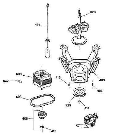 GE Washing Machine Parts Diagram Amazing asking price on