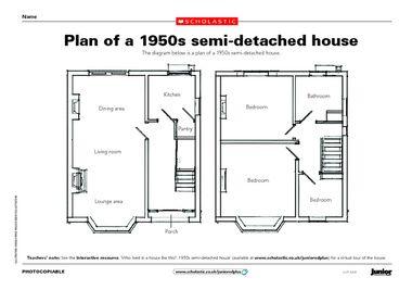 1950's Semi Detached House FABULOUS 1950's! Pinterest House