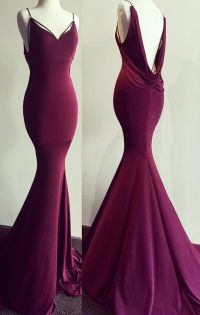 Maroon Prom Dress Mermaid | www.imgkid.com - The Image Kid ...