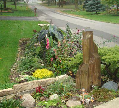 Rain Garden Ideas For Redirecting Rain Water Into The Garden