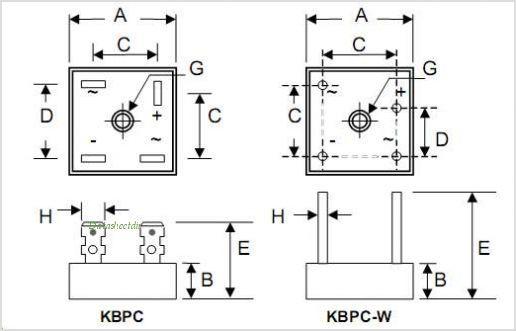diode bridge schematic diagram