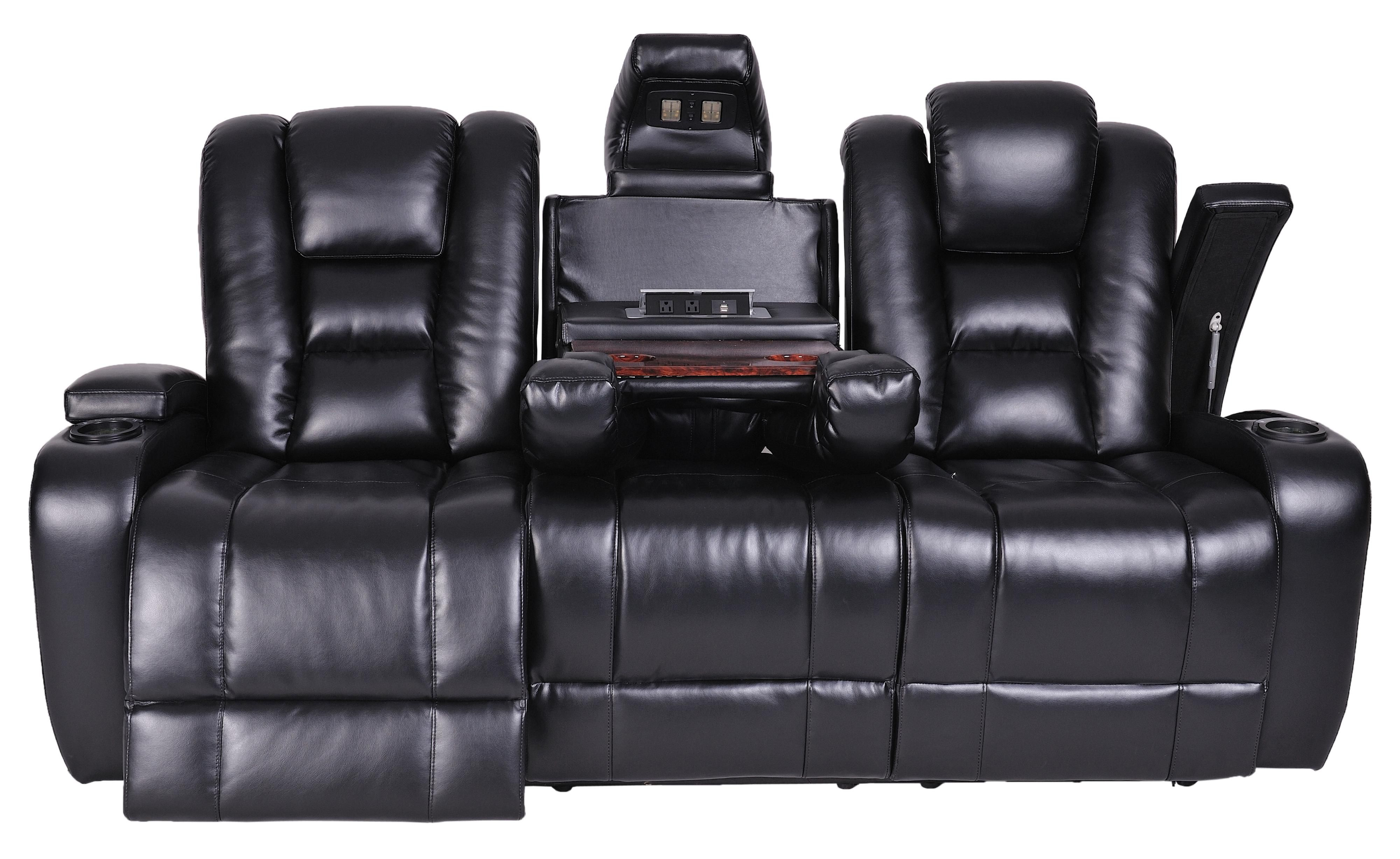 sofa world recliner chairs design sofabord glas black leather electric marvelous