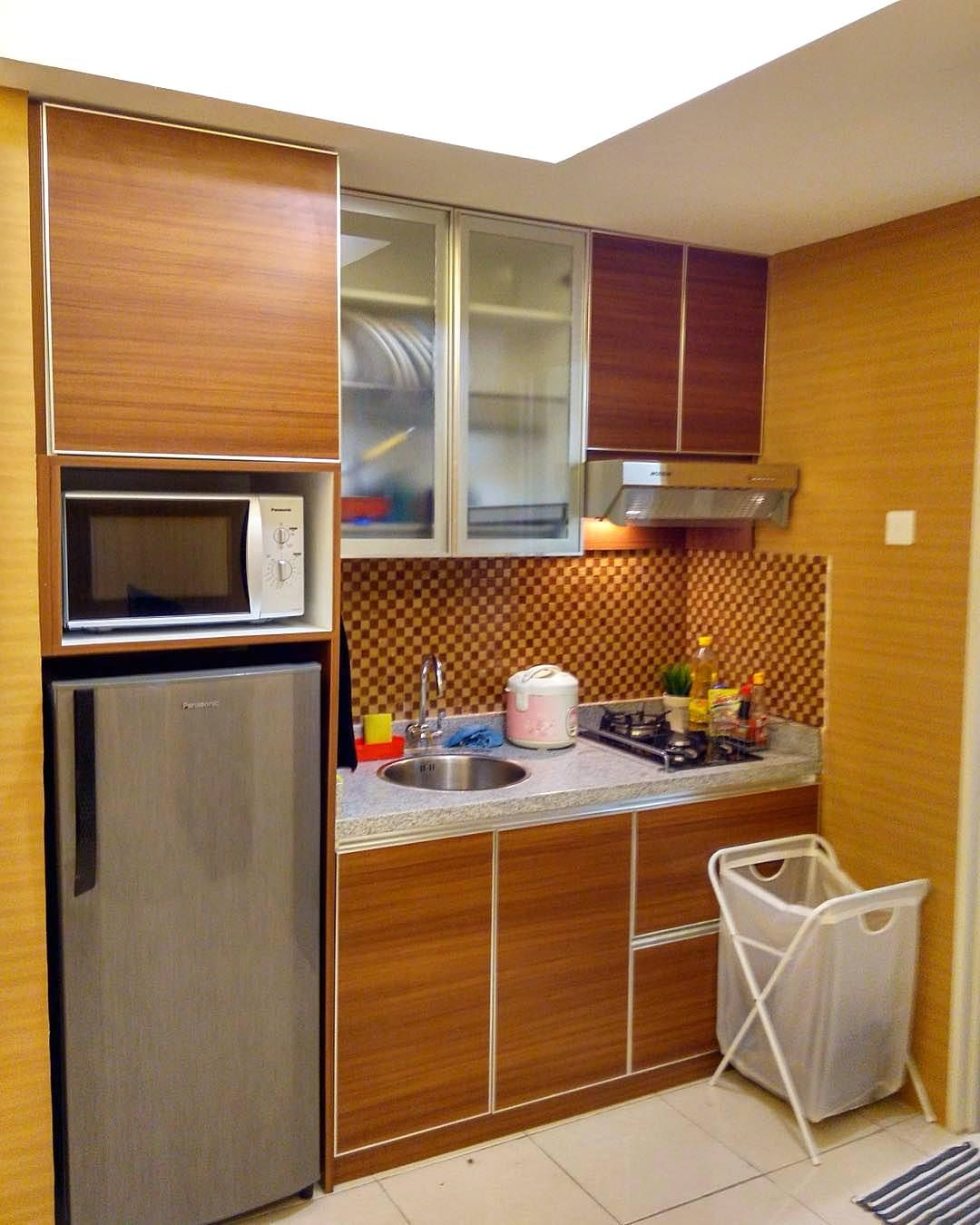 Kitchen Set Mini Modern  Dapur Minimalis Idaman