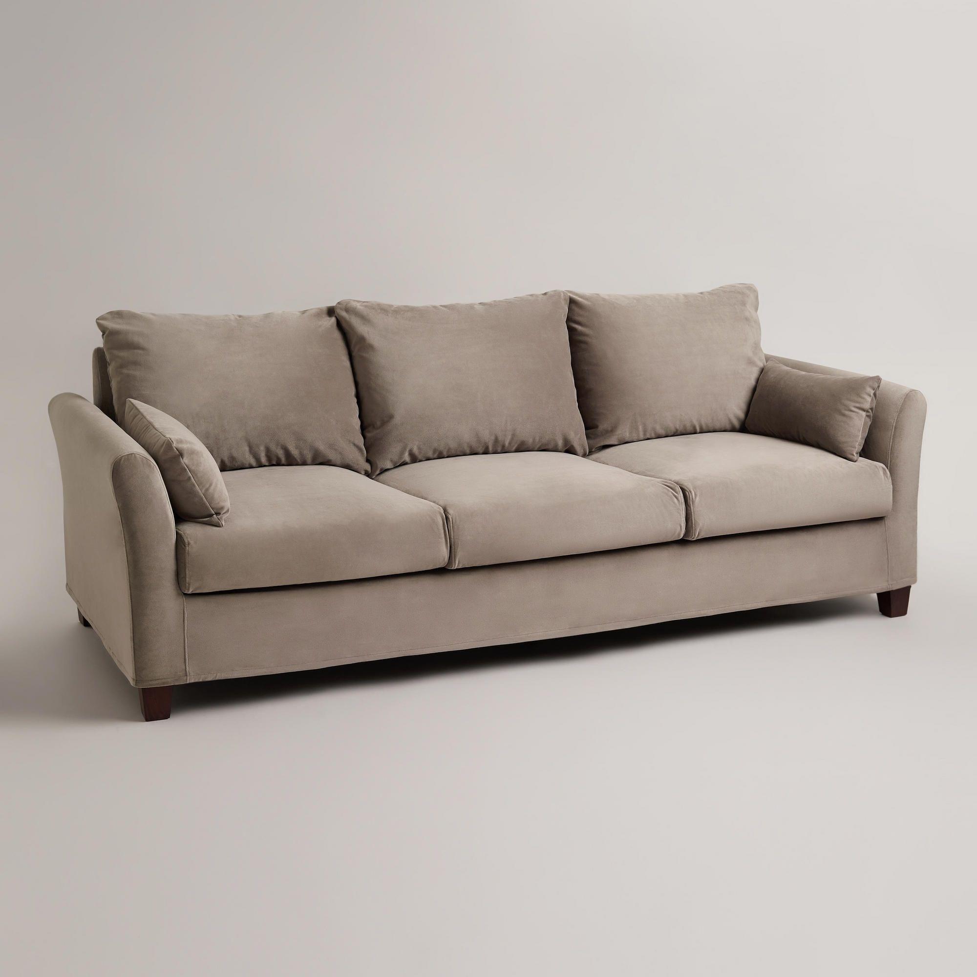 backamo 3 seater sofa slipcover limpeza de em santa barbara d oeste three seat pine point slipcovered