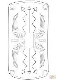 Image result for roman shield template printable