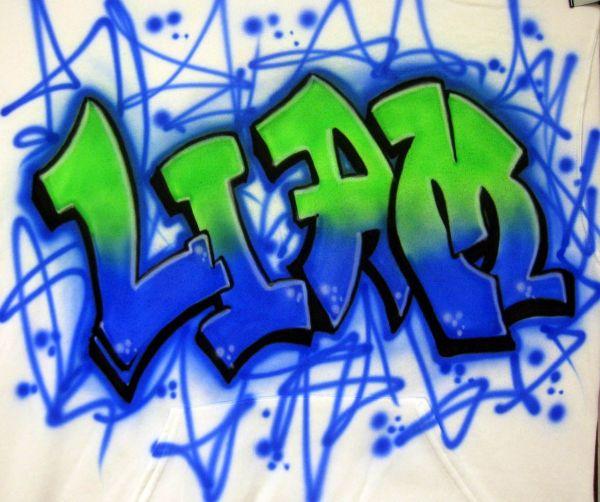 Airbrush Graffiti Design