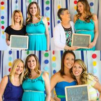 Photobooth Collage - Baby Shower Ideas | Baby Shower ...