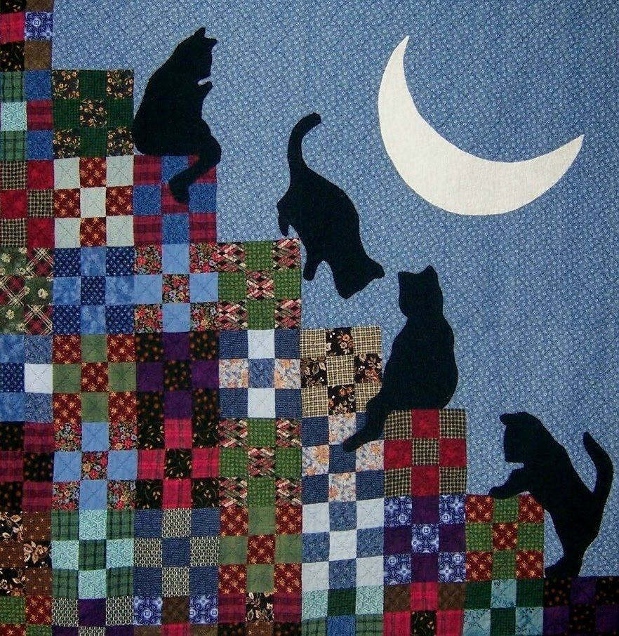 Crazy Cat Quilt Pattern