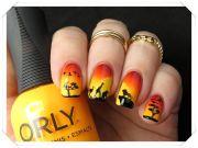 lion king nail art nailart