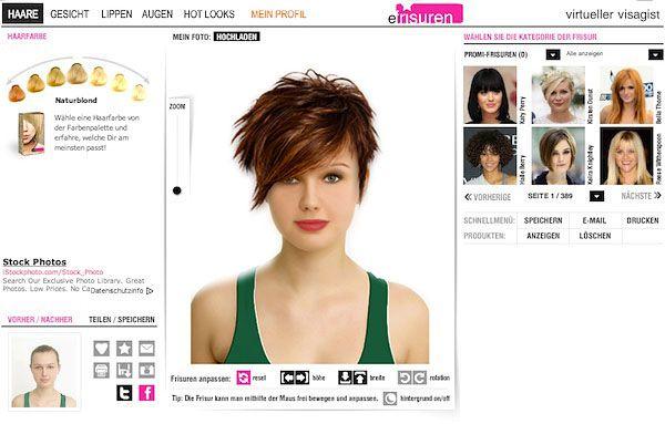 Neue Frisur Mit Foto Ausprobieren – Trendige Frisuren 2017 Foto Blog
