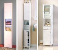 Bathroom Cabinet Storage | ... narrow bathroom storage ...